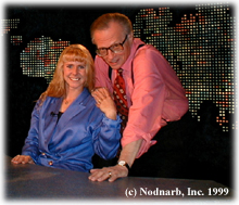 Tonya and Larry King