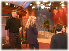 At the Maury Povich Show